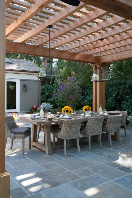 Atherton, CA New Home Construction contemporary-patio