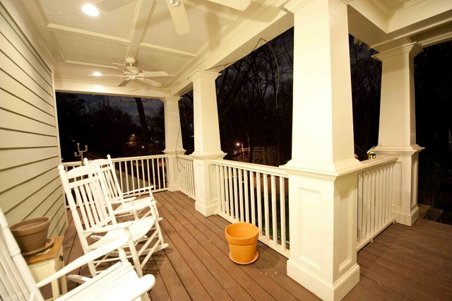 atlanta ga deck and porch traditional patio