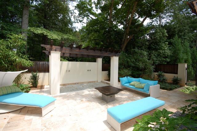 Atlanta GA mediterranean-patio