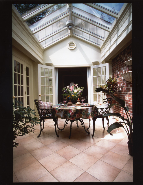 Atrium enclosure traditional patio other metro by for Atrium design and decoration