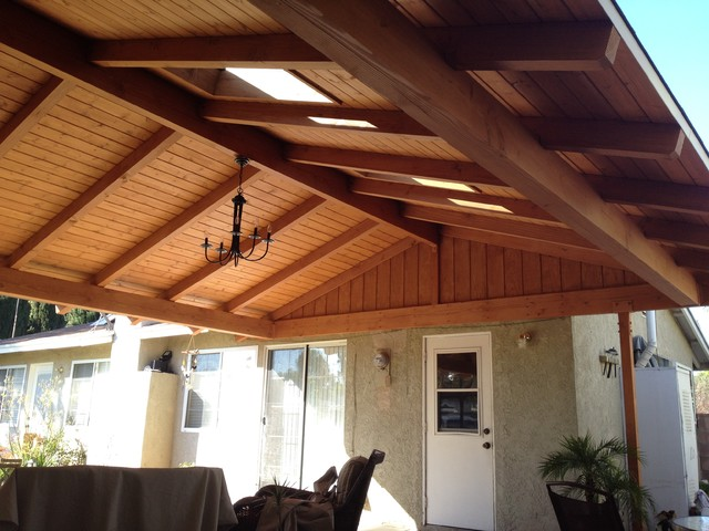Incroyable Attached Solid Roof Patio Covers