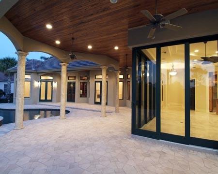 Audubon Country Club traditional-patio