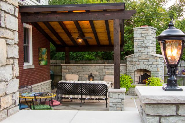 Audubon Park patio Traditional Patio louisville by Designer Builders