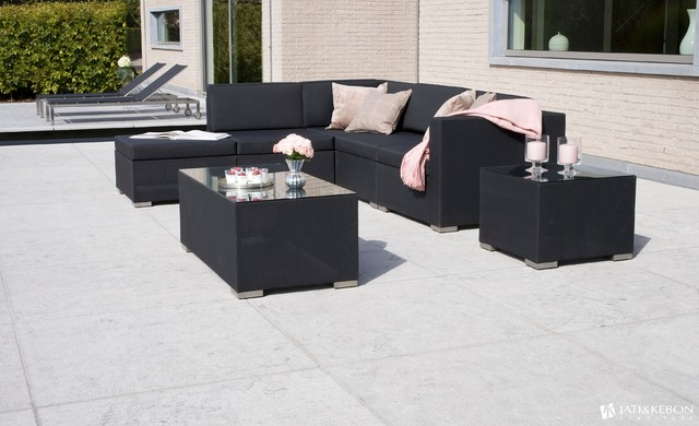 AuthenTEAK Stainless Collection modern-patio