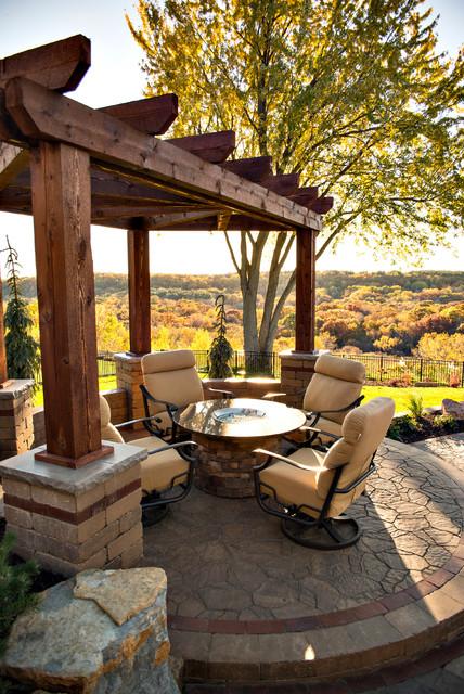 Award winning backyard oasis rustic patio for Award winning backyard designs