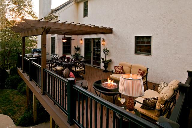 Award Winning Outdoor Deck Traditional Patio Philadelphia