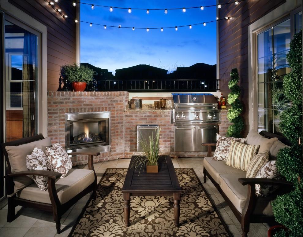 Patio - traditional patio idea in Denver