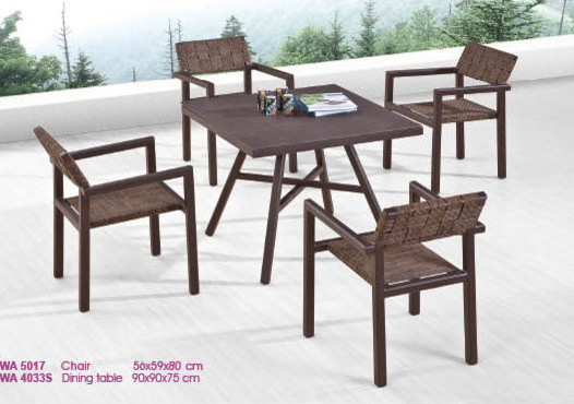 Babmar kenya dining set for four contemporary patio for Outdoor furniture kenya