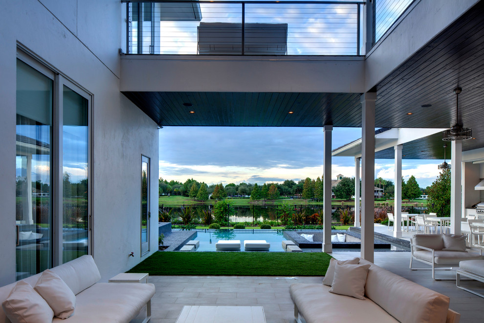 Back Porch - Outdoor Living - Contemporary - Patio ... on Sunscape Outdoor Living id=50854