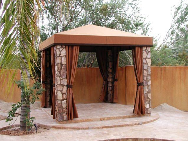 backyard elegance traditional patio phoenix by phoenix tent