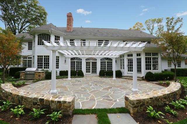 Backyard Getaway traditional-patio
