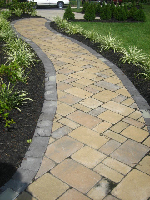 Backyard Hardscape  Traditional  Patio  baltimore  by D&P Interior