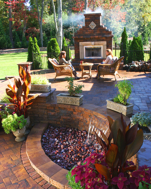 "Backyard Makeover ""Staycation"" - Modern - Patio - New York ... on Outdoor Patio Makeover id=88330"