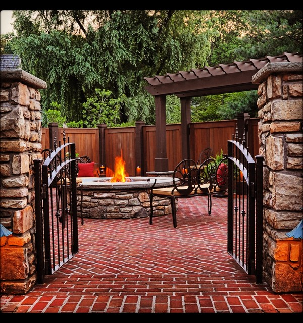 backyard oasis traditional patio other by cornerstone builders