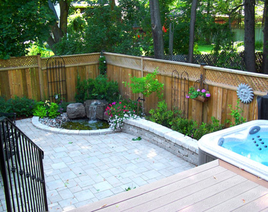 Backyard oasis - How to create a small outdoor oasis ...