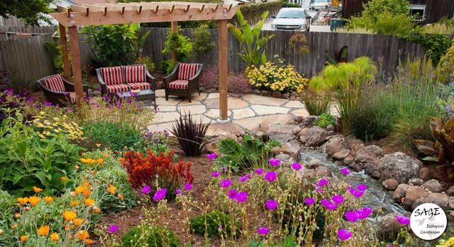 Backyard Paradise traditional-patio