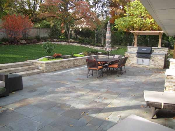Backyard Patio Tiles : Backyard Patio by Kimball Tile  Traditional  Patio  kansas city