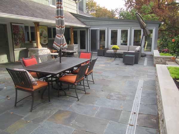 Backyard Patio By Kimball Tile Traditional Patio