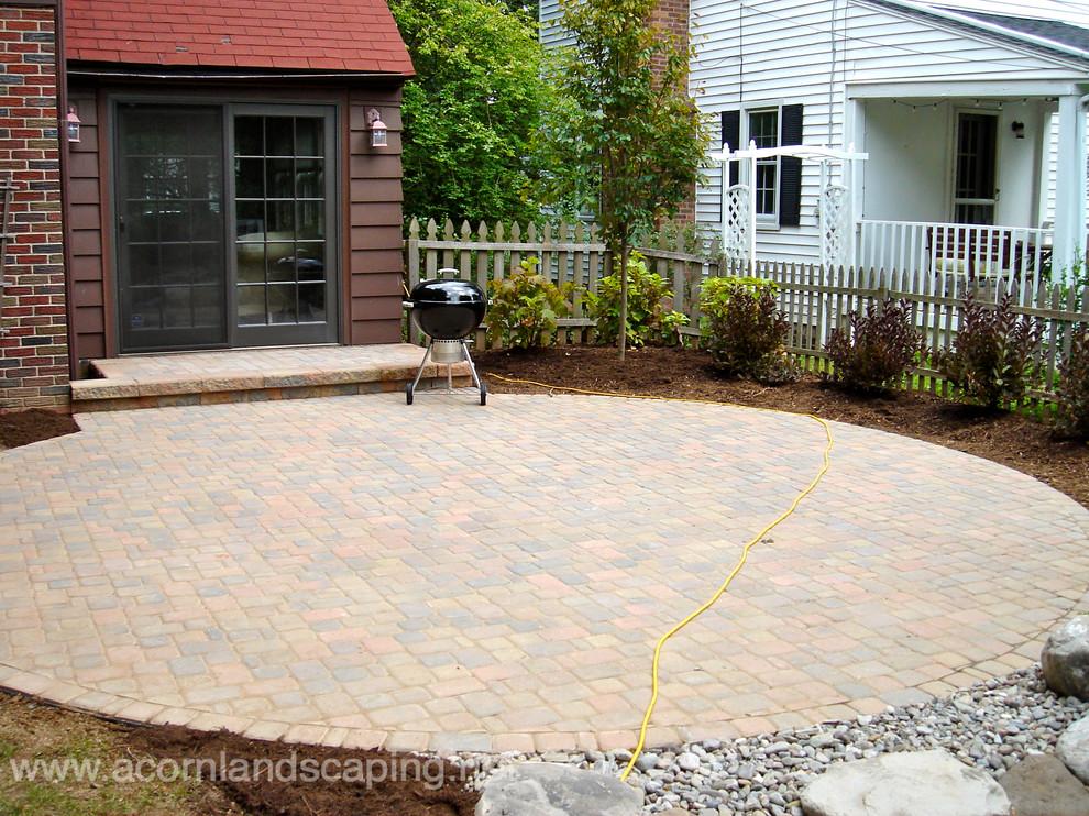 Backyard Patio Designs Pavers Stone Designer In Rochester Ny