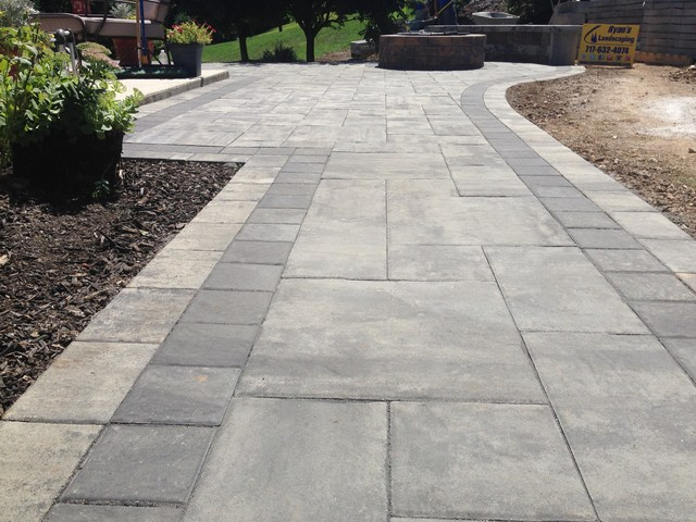 Hardscape Backyard For Dogs : Backyard Patio Hardscape Ideas Hanover PA  Patio  other metro  by