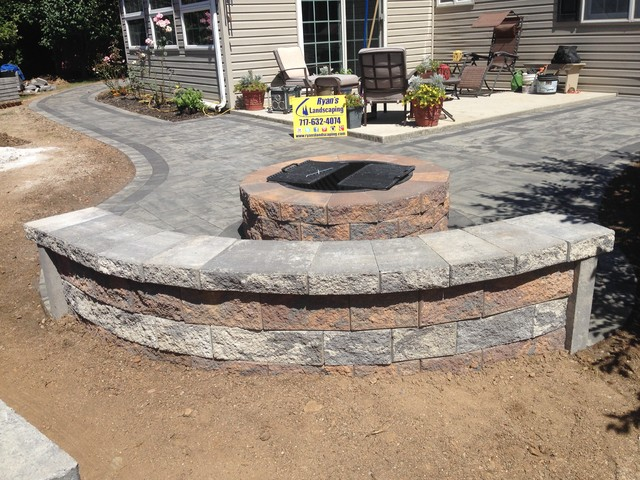 Backyard Patio Hardscape Ideas Hanover PA  Patio  other metro  by