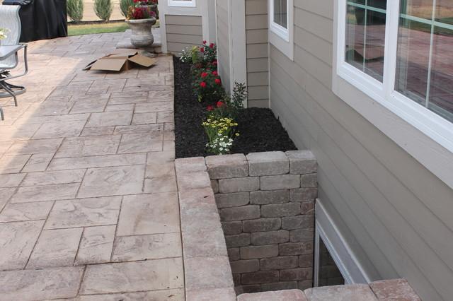 brick basement window wells. Beautiful Window Backyard Patio Contemporarypatio In Brick Basement Window Wells D