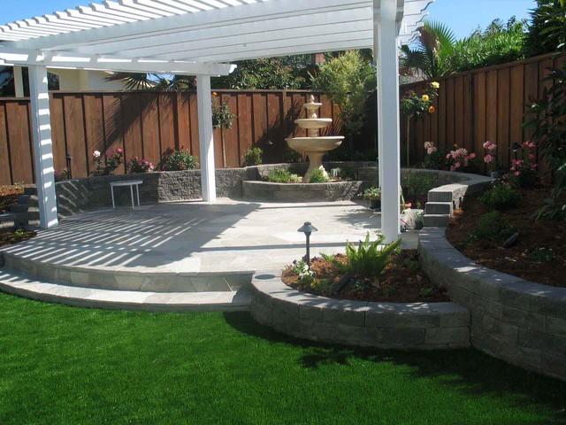 Backyard Pergola Shade Structures - Traditional - Patio ... on Shade For Backyard Patio id=76924