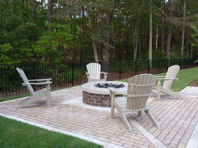 Hardscape Backyard For Dogs : Backyard Poolside, Hardscape & Landscape  Transitional  Patio