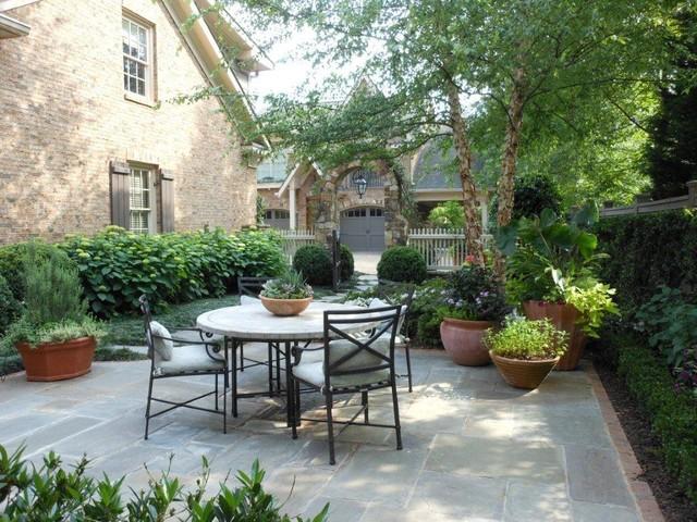 Backyard Retreat traditional-patio