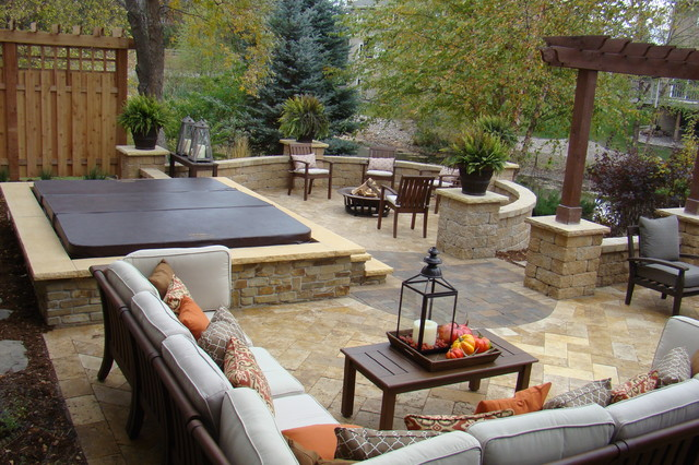 Backyard Retreats Ideas : Backyard Retreat  Traditional  Patio  minneapolis  by Superior