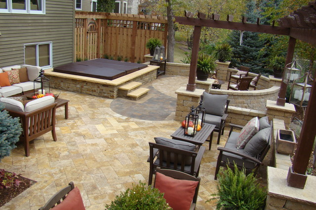 Backyard Retreat Traditional Patio Minneapolis By Superior