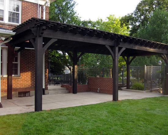 Mid Century Modern Pergola : Midcentury Covered Pergola Home Design ...