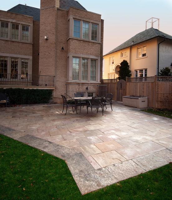 Backyards traditional-patio