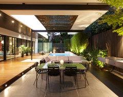 Balaclava Road Project - C.O.S Design contemporary-patio