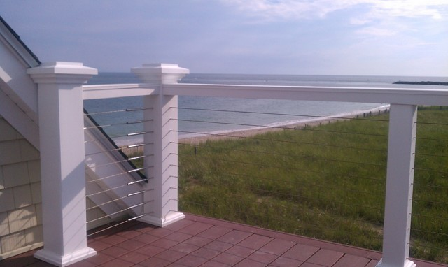 Balcony Railings With Stainless Steel Cable Rail