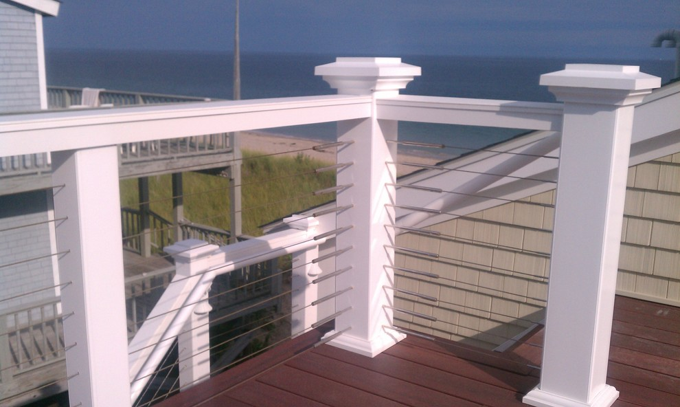 Balcony Railings With Stainless Steel Cable Rail Contemporary Patio Portland By Stainless Cable Railing
