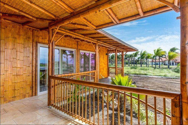 Bamboo Railings Tropical Patio Hawaii By Bamboo Living Homes