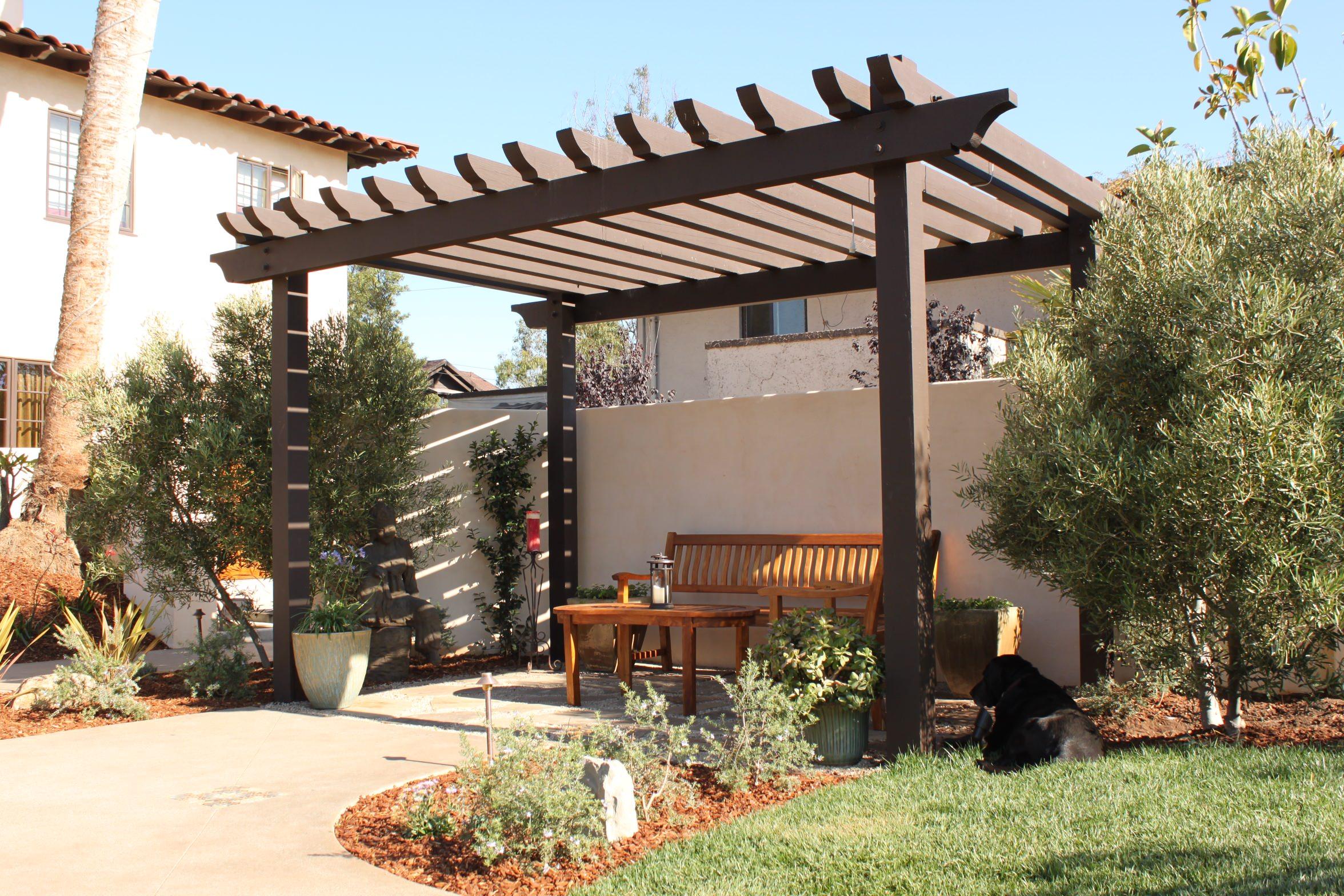 The Pergola Retreat Lounge Area
