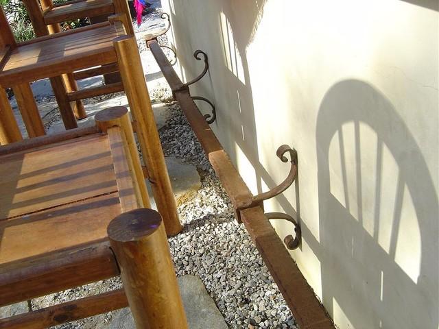 Bar Foot Rest Rail 1 mediterranean-patio