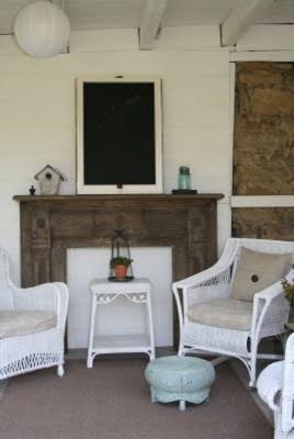 Barn Patio eclectic-patio