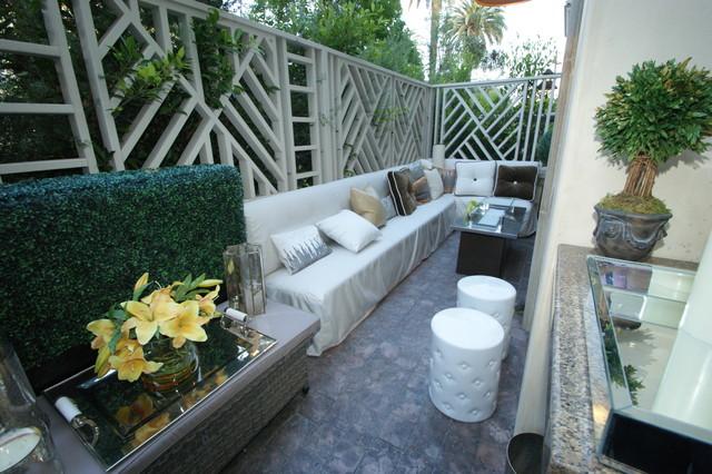 condo patio privacy ideas traditional patio by terrabella inc baroque modern condo contemporary patio - Condo Patio Privacy Ideas