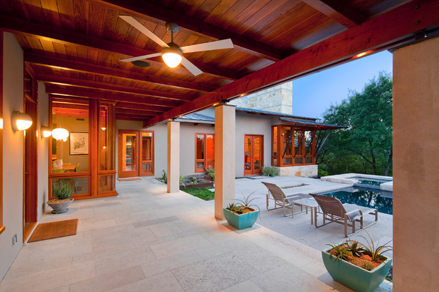 Barton creek contemporary patio austin by fine for Barton creek nursery