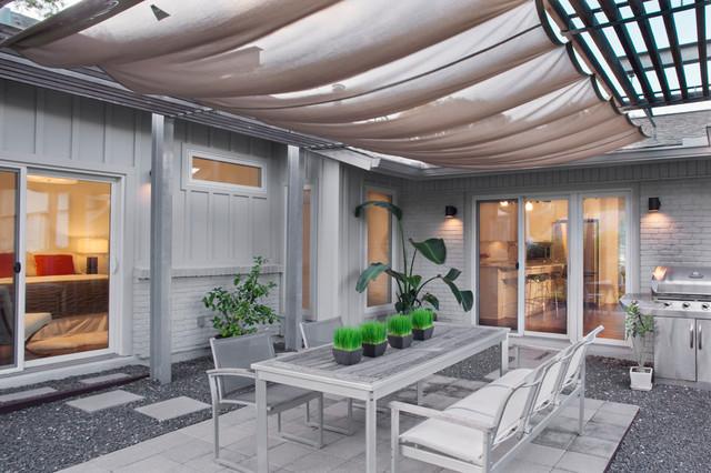 Canvas patio covers ideas home design ideas - Barton Hills Remodel Addition Contemporary Patio