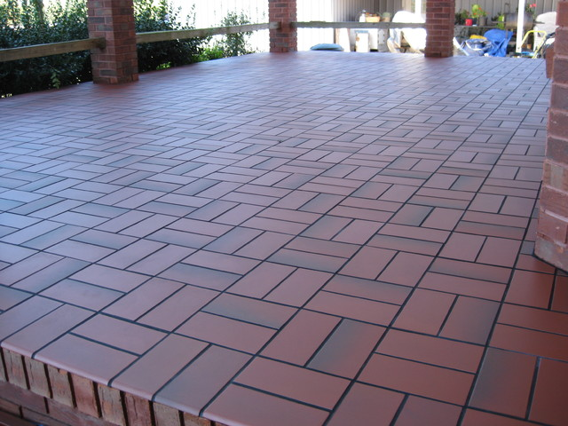 Concrete patio flooring 2017 2018 best cars reviews for Terrace tiles