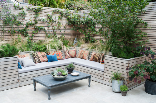 Photo by The London Gardener Ltd - Discover patio design ideas - 10 Outdoor Seating Ideas To Sit Back And Relax On This Summer