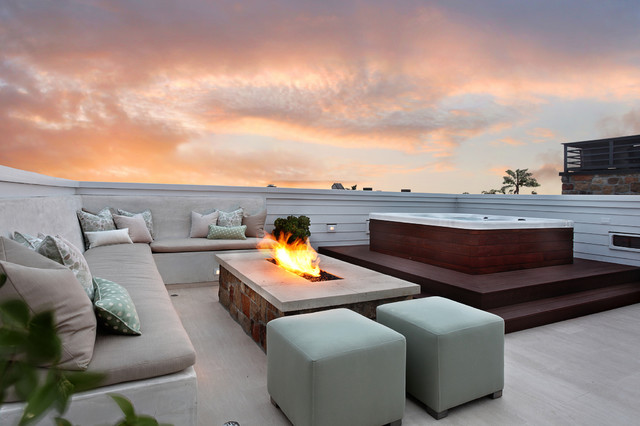 Bayshores Drive Beach Style Patio Orange County By