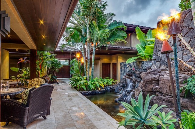Backyard Bay View : Bayview Project, Kona, Hawaii  Tropical  Patio  hawaii  by Greg