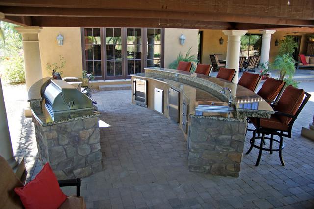 Beau BBQ IslandsTraditional Patio, Phoenix