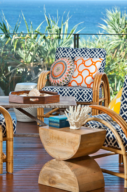 Beach House Tropical Patio Brisbane By Highgate House