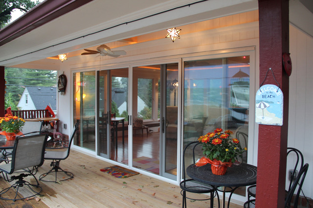Beach House in Kentucky Beach Style Patio Louisville by Door Store a